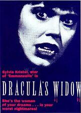 "Dracula's Widow DVD starring Sylvia Kristel, star of ""Emmanuelle"" region 0"