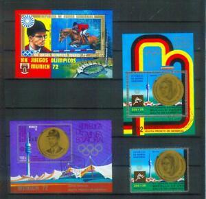 Lot Briefmarken aus Äquatorial-Guinea