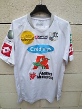 Maillot AMIENS ASC porté VIATOR n°14 Lotto match worn shirt Ligue 2 XL maglia