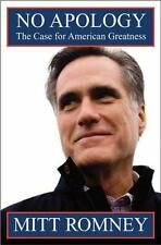No Apology: The Case for American Greatness, Romney, Mitt, Good Condition, Book