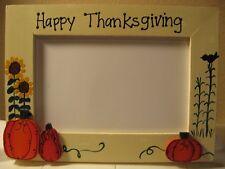 Thanksgiving Frame Happy Thanksgiving custom frame family photo picture frame