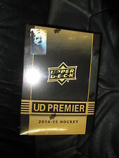 2014-15 UD PREMIER  HOCKEY HOBBY SEALED TIN BOX