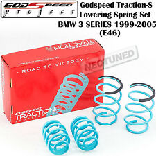 GODSPEED TRACTION-S LOWERING SUSPENSION SPRINGS FOR BMW 3 SERIES 1999-2005 RWD