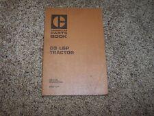 Caterpillar Cat D3 LGP Tractor 6N1- Factory Parts Catalog Manual