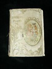 """Antique Vintage Book """" Whittiers Poems """""""