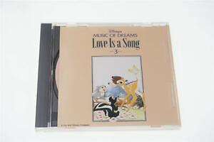 MUSIC OF DREAMS LOVE IS SONG 3 DISNEY JAPAN CD A12465