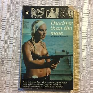 Deadlier than The Male By Henry Reymond - 1966 2nd Impression Hodder Paperback