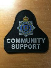 UNITED KINGDOM GREAT BRITAIN PATCH POLICE SUSSEX COMMUNITY SUPPORT - ORIGINAL!