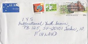 DB836) Nice Uprated PSE to Finland, Woodbridge, bowls, Science. Price $6