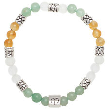 Healing Stones for You: Aries Zodiac Bracelet with Natural Stones