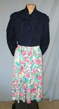 Koret Pastel Print Skirt Size Medium (Estimate 11/12)