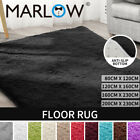 Marlow Floor Rug Rugs Shaggy Fluffy Area Carpet Large Pads Living Room Bedroom