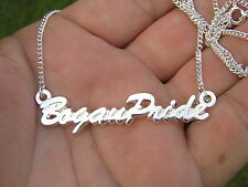~ BOGAN PRIDE SILVER PLATED NECKLACE 60cm Chain Included *HOT!* 4X4 Offroader