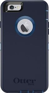 OtterBox Defender Series Case ONLY iPhone 6s & 6 - Indigo Harbour, Easy Open Box