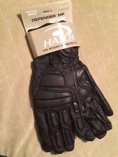 Hatch Defender MP100 XXL  Leather Biker Kevlar Gloves Riot Police Tactical SWAT