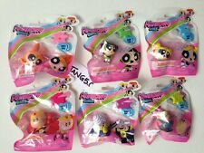New Series 1 Powerpuff Girls Mini Figure Figurine Bags Complete Set 6 Pc Lot