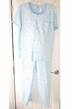 3X New PLUS Size DUO Maternity PJ, Pajama Set - Top & Bottoms-Nursing-GREAT Gift