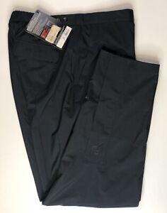 FootJoy FJ Dryjoys Womens Waterproof Performance Golf Pants Black Size Large NWT