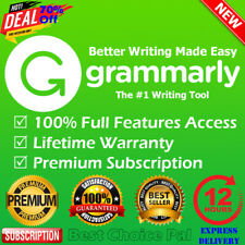 🔥Grammarly Premium Lifetime Account with Lifetime Warranty | EXPRESS DELIVERY✔️