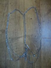 Freedom Top Shop Silver Spike harness body chain necklace