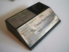 Amex American Express & Tiffany Silver Plates  Travelers Check Sample