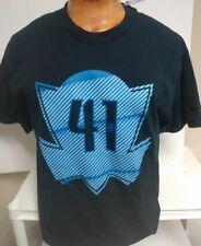 Dirk Nowitzki Dallas Mavericks Backer Name & Number T-Shirt - NAVY Mens Large
