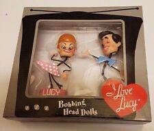 I Love Lucy & Ricky Bobbing Head Stick Figure Dolls - New in Box - Sealed