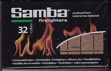 LOT DE 10 X 32 CUBES ALLUME-FEU ( CIRE & BOIS) POUR POELE A BOIS & BARBECUE
