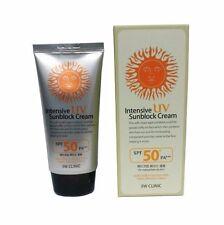 3W CLINIC Intensive UV Sunblock Cream SPF 50+ PA+++ UVA/UVB protection (70ml)