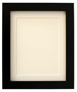 Tailored Frames - Square design black Picture poster & Photo Frames with Mounts.