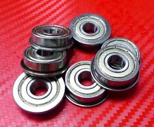 10pcs F6903zz (17x30x7mm) Metric Metal FLANGE Ball Bearing 17*30*7 F6903z