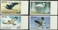 Nevis Oiseaux Rapaces Raptors Birds Vögel Non Denteles Imperfs Essay ** 1985