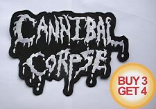 CANNIBAL CORPSE W BACK PATCH BUY3GET4,SUFFOCATION,DEATH METAL,DYING FETUS,SLAYER