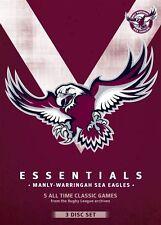 NRL - Essentials - Manly-Warringah Sea Eagles (DVD, 2013, 3-Disc Set) - Region 4