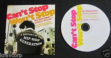 Grandmaster Flash/Eric B & Rakim 'Can'T Stop Won'T Stop' 2005 Advance Cd