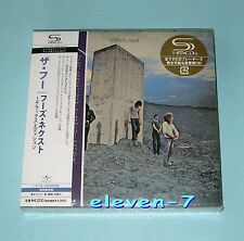 THE WHO WHO'S NEXT DELUXE EDITION JAPON MINI LP CD 2 SHM-CD BOX SEALED