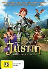 JUSTIN AND THE KNIGHTS OF VALOUR - BRAND NEW & SEALED R4 DVD (ANTONIO BANDERAS)