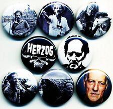 Werner Herzog x 8 NEW 1 inch pins buttons badges