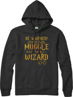 Harry Potter Hoodie, Muggle Hooded Jumper, Wizard Top. Harry Potter Fancy Dress