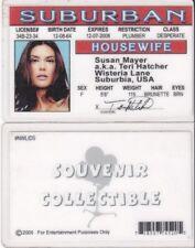 Teri Hatcher / Susan Mayer Desperate Housewives id card Drivers License Terri