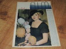 Sztuka i Film 51/1934 polish magazine Mary Pickford, Jean Harlow, Merle Oberon