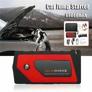 69800mAh 600A Car Jump Starter Portable USB Power Bank Battery Booster Clamp 12V