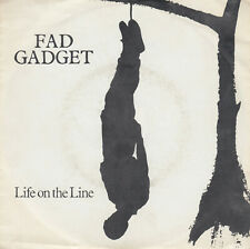 "FAD GADGET Life On The Line GER Isssue Intercord 111.807 7"" Vinyl Single 1982"