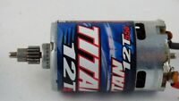 Traxxas 3785 Brushed Electric Motor Titan 12T 550 16 T Pinion Slash RC Toy Car