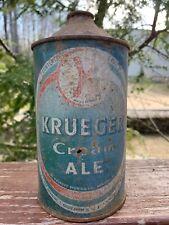 Kreuger Cream Ale Quart Cone Top-G.Kreuger-Newark New Jersey-Cap Sealed