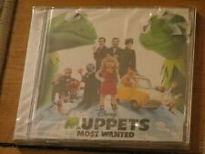 NEW/SEALED CD Muppets Most Wanted (Disney original soundtrack OST) Lady Gaga