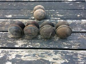 antique wooden drawer knobs 4 +1