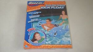 Banzai: 38 x 29 x 12 inch Inflatable Dolphin,kick float New