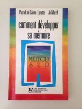Comment Développer sa Mémoire par Patrick de Sainte Lorette et Jo Marzé