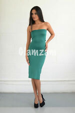 Vestiti da donna verde in misto cotone taglia S